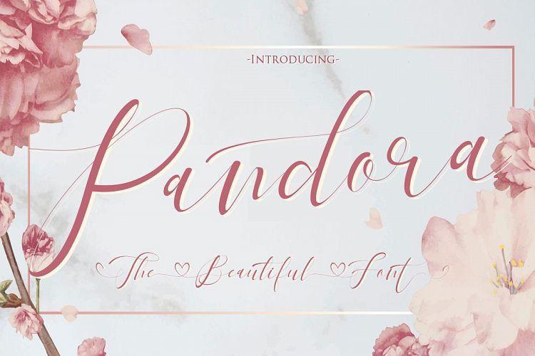 pandora-calligraphy-font