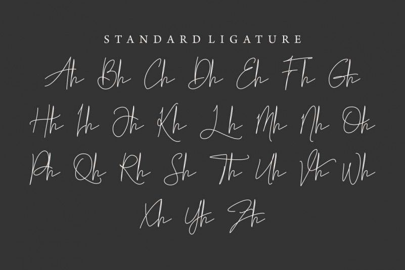 Brillante Luna Piena Signature Font-4