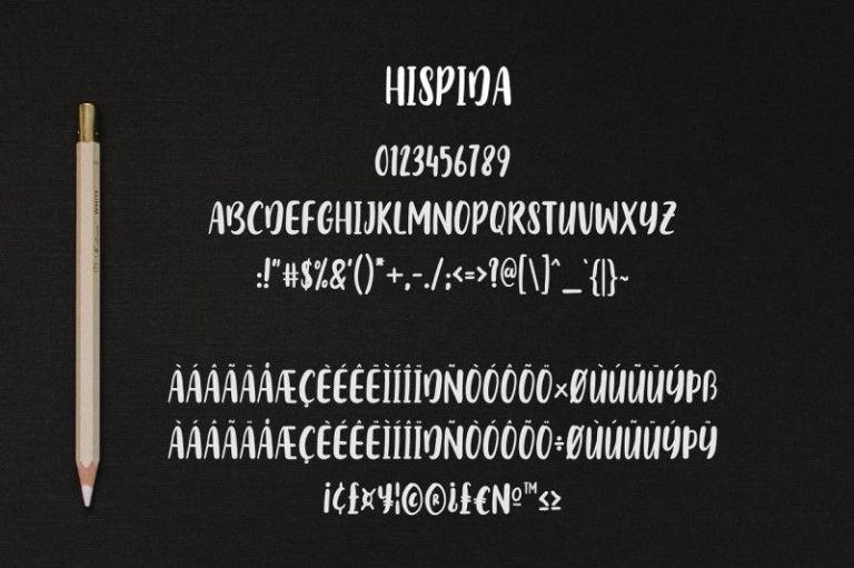Hispida Script Font