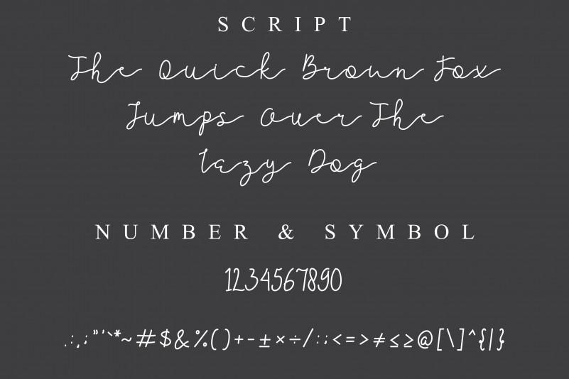 Jellita Handwritten Font-3