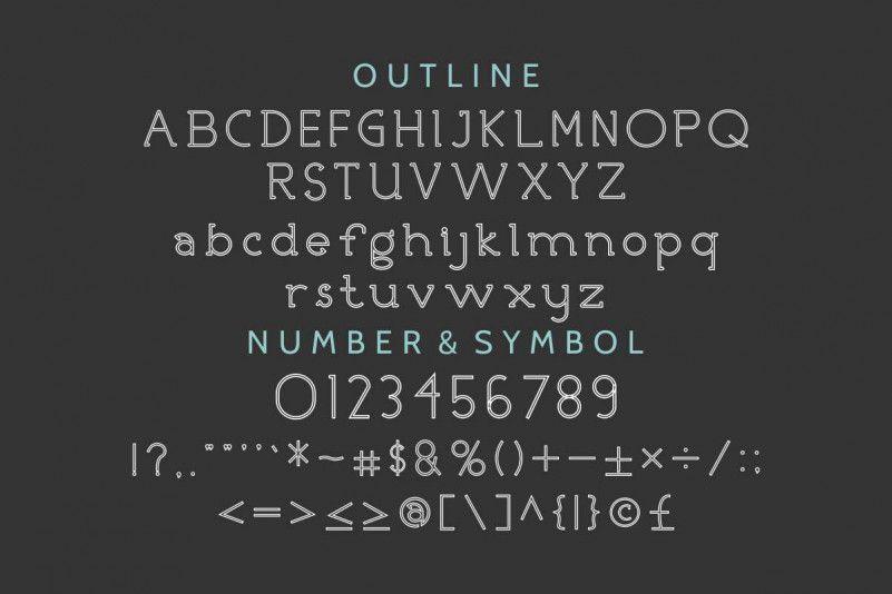 Nicolls Font Family-3