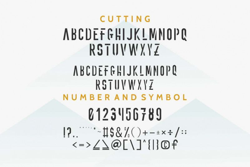 ONNIC Display Font-3