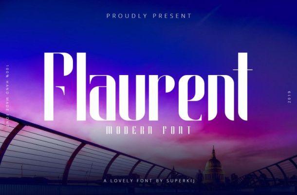Flaurent Modern Font