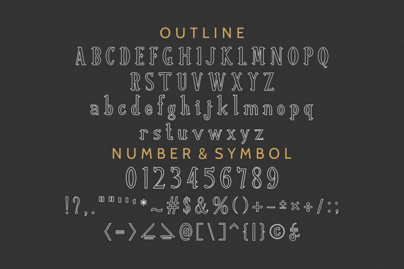 Re'shawn Vintage Font-3