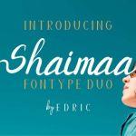 Shaimaa Font Duo