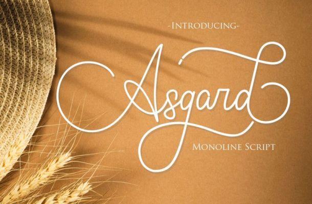 Asgard Font
