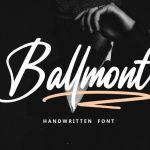 Ballmont Font