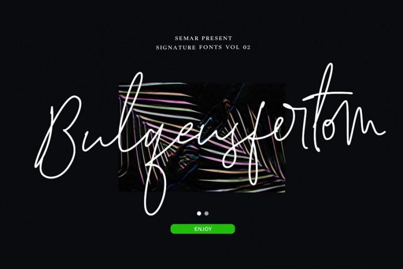 bulqeusfertom-signature-font