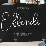 Effendi Font