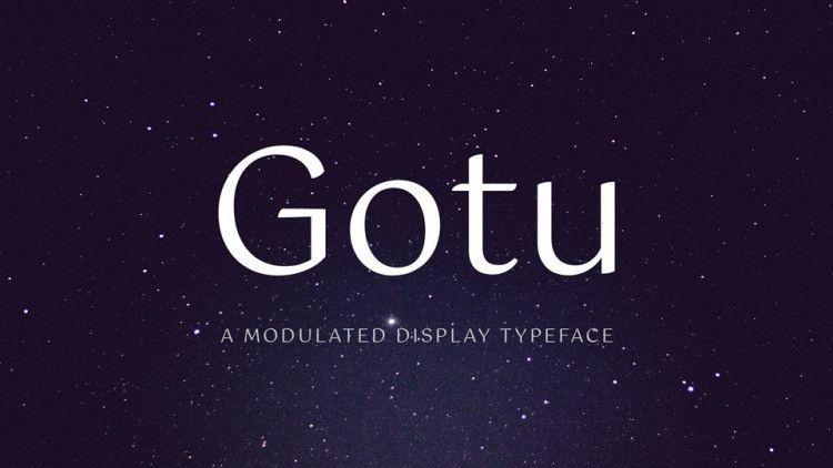 gotu-font
