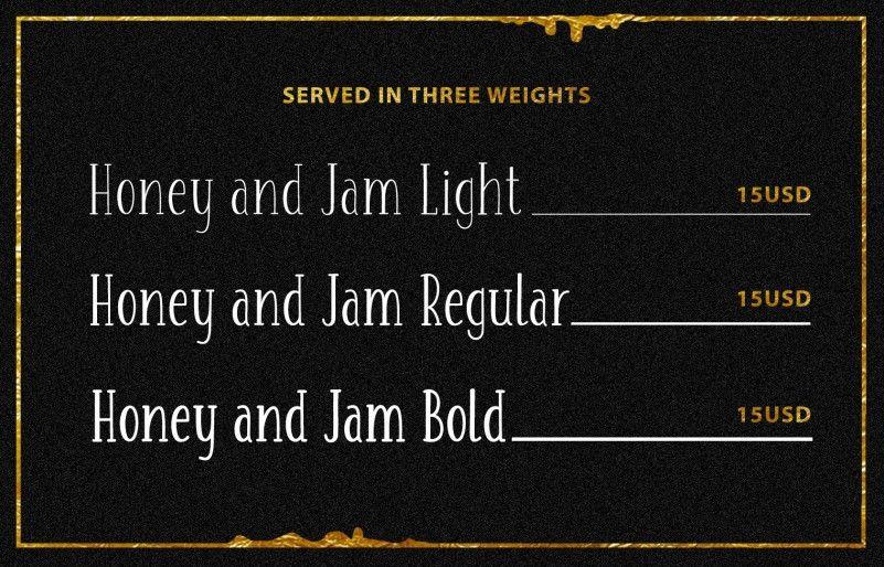 honey-jam-font-family-2