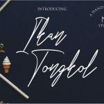 Ikan Tongkol Font