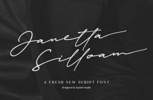 Janetta Silloam Font
