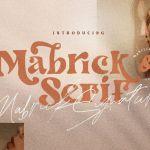 Mabrick Playful Font Duo