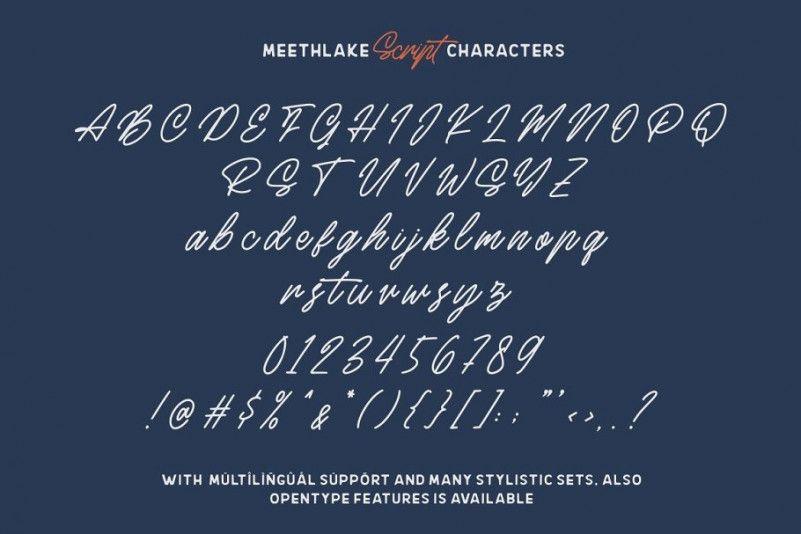 meethlake-vintage-font-3