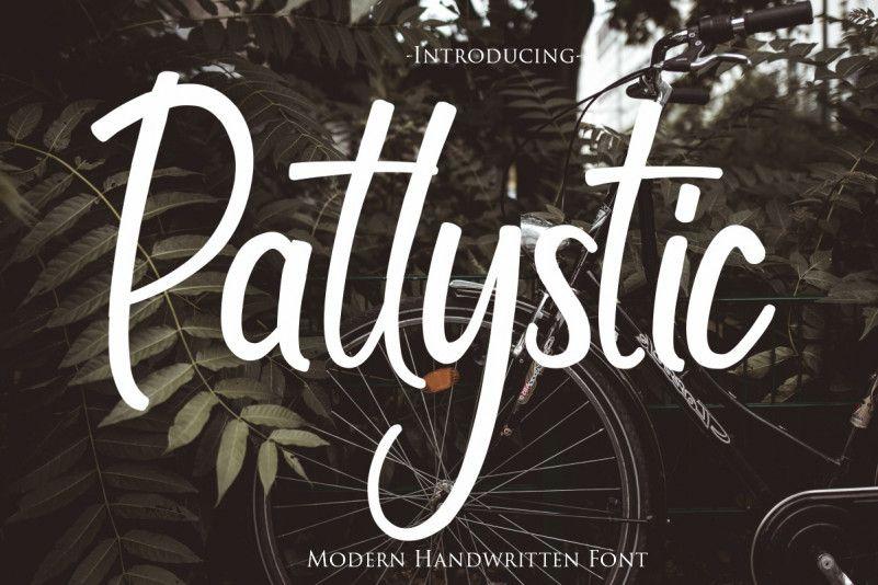 patlystic-font