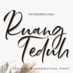 Ruang Teduh Font