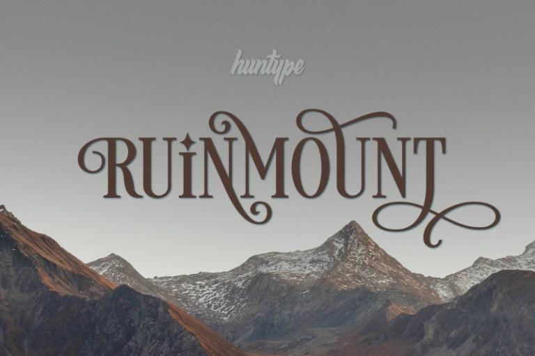 Ruinmount Font