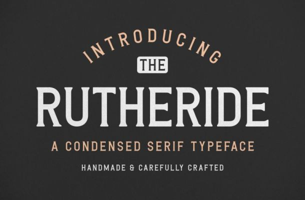 Rutheride Font