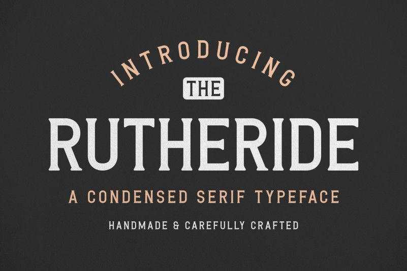 rutheride-font