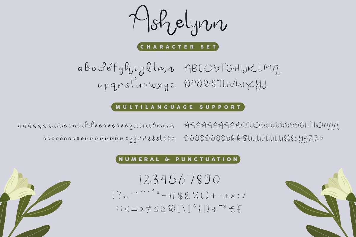 Ashelynn Sweet Font Duo-4