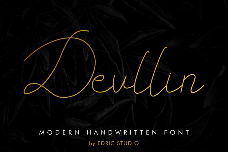 Devllin Handwritting Font