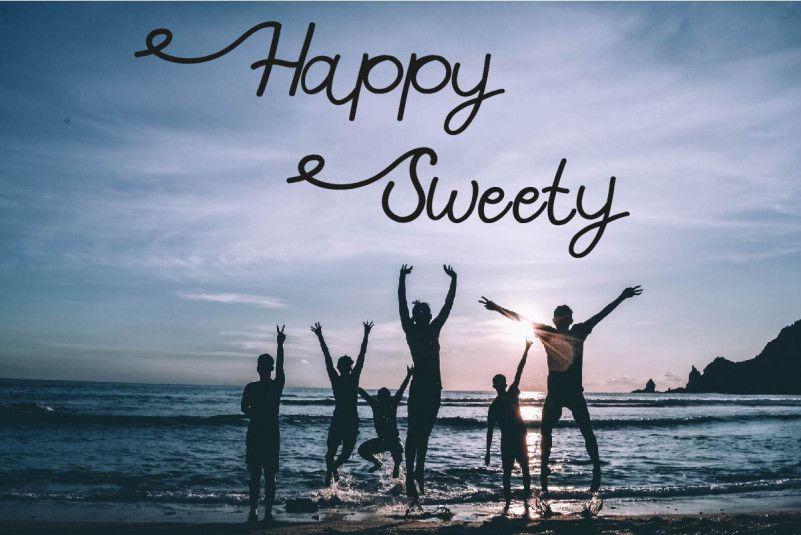 Happy Sweety Script Font-1