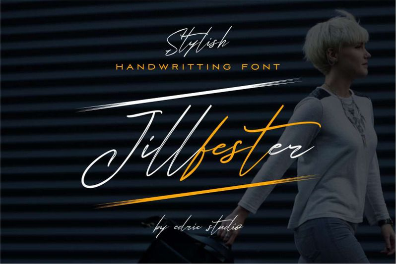 Jillfester Brush Font