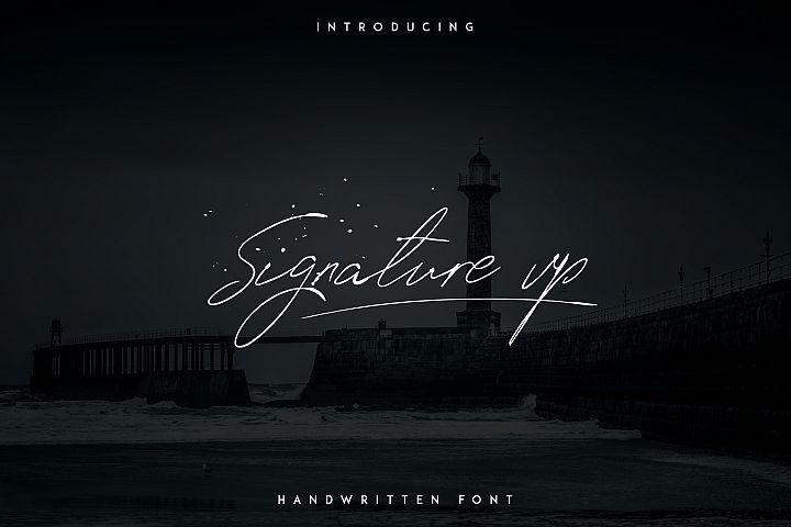 Signature Vp – Handwritten Font