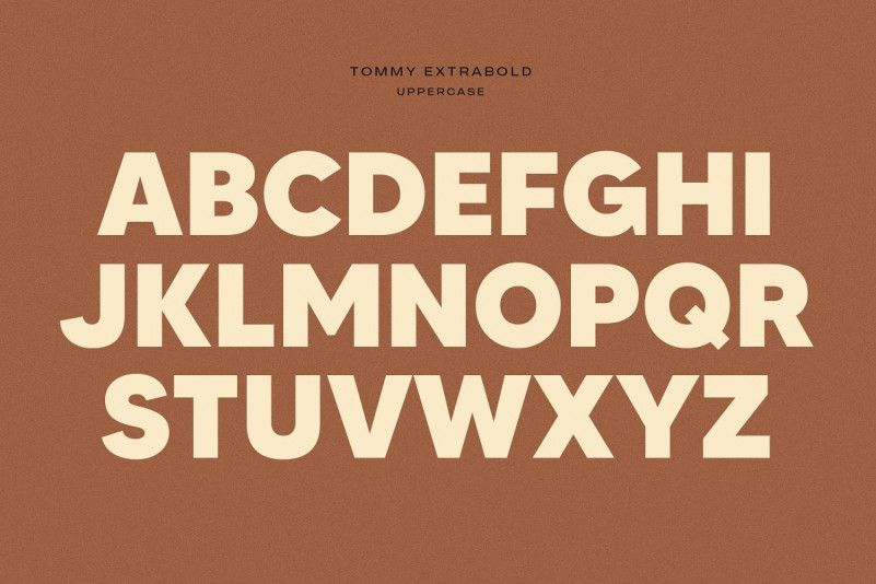 Tommy Font Family-1
