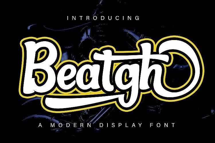 beatgh-bold-script-font