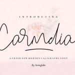 Carmelia Handwritten Font