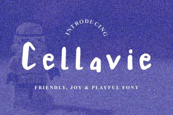 Cellavie Script Font