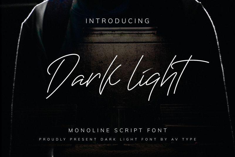 darklight-font