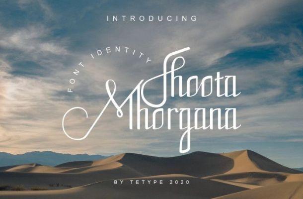 Fhoota Mhorgana Font