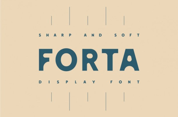 Forta Free Display Font