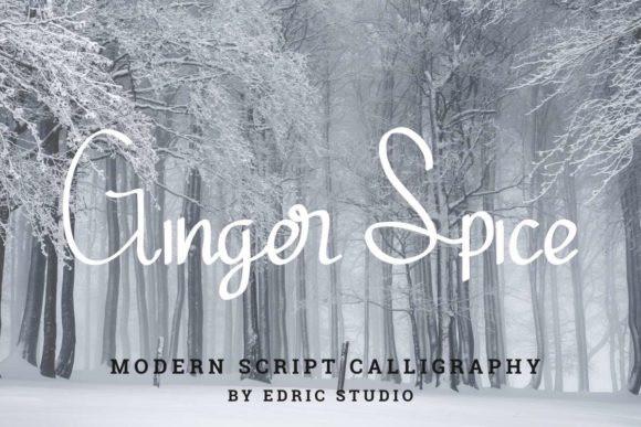 Ginger Spice Font