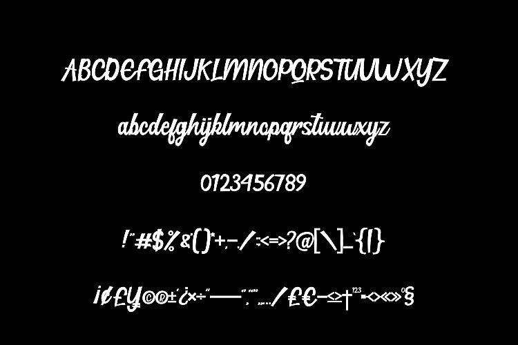 Hillton Modern Script Font