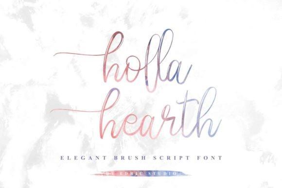 holla-hearth-font-3