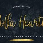 Holla Hearth Font