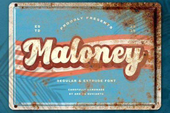 maloney-font