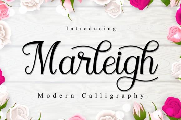 Marleigh Modern Calligraphy Font
