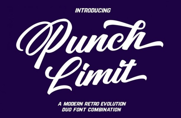 Punch Limit Font