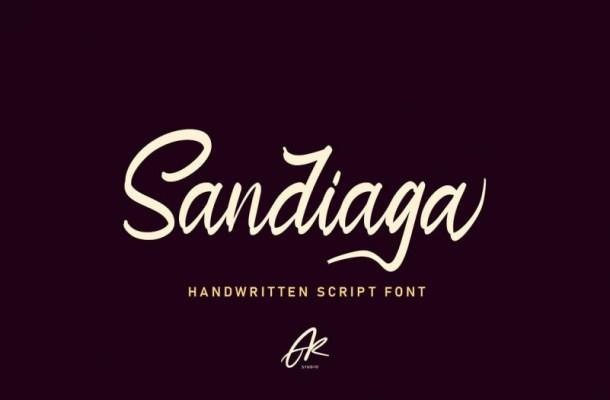 Sandiaga Font