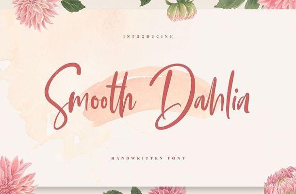 Smooth Dahlia Script Font