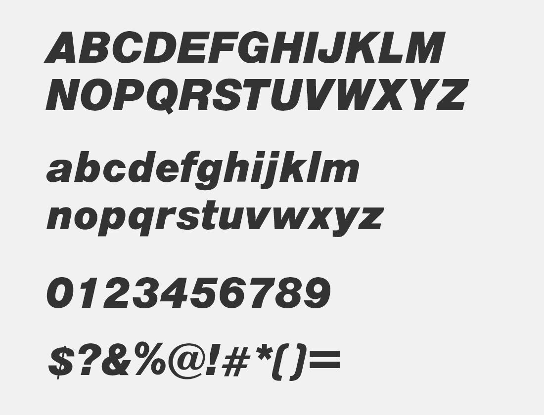 2 OPTIAlpine-BoldItalic font