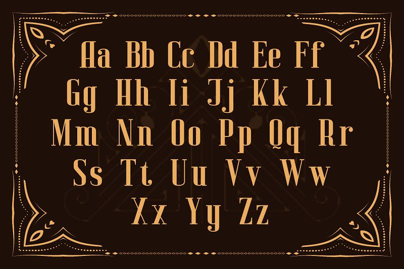 Alison Finch Display Font-3