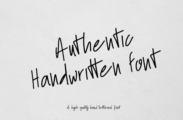 Blittar Rain Handwritten Font