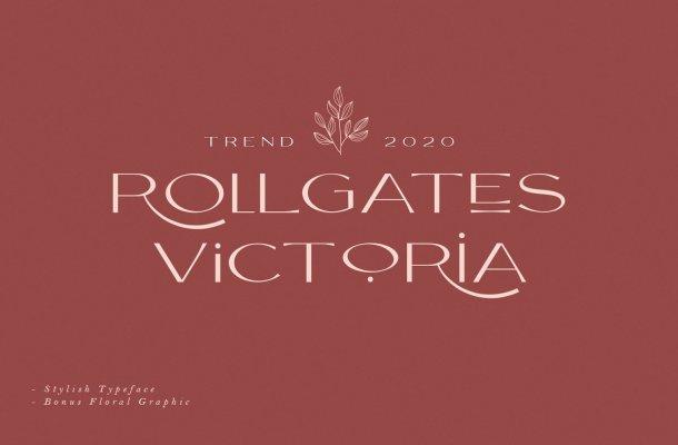 Rollgates Victoria Sans Font