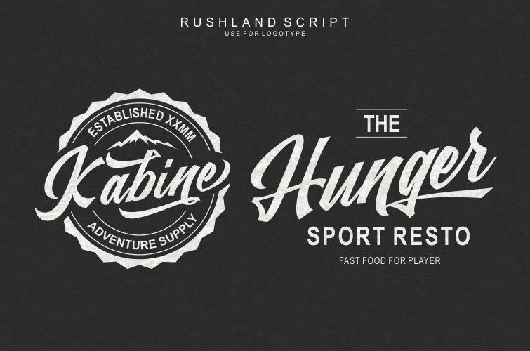 Rushland Scripts Calligraphy Brush Style Font-2